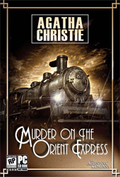 Agatha Christie: Murder on the Orient Express Cover