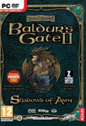 Baldur's Gate 2: Shadows of Amn Cover