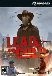 Lead and Gold: Gangs of the Wild West Cover