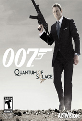 James Bond 007: Quantum of Solace Cover
