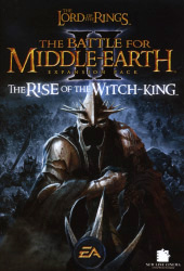 The Lord of the Rings: The Battle For Middle Earth 2 - Rise of the Witch-King Cover