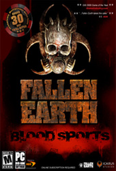 Fallen Earth: Blood Sports Cover