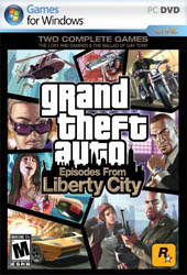 Grand Theft Auto 4: Episodes from Liberty City Cover