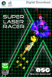 Super Laser Racer Cover