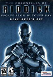 The Chronicles Of Riddick: Escape From Butcher Bay Cover
